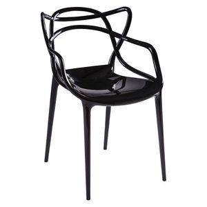 cadeira-masters-alegra-philippe-starck-kartell-policarbonato-acrilico-preta