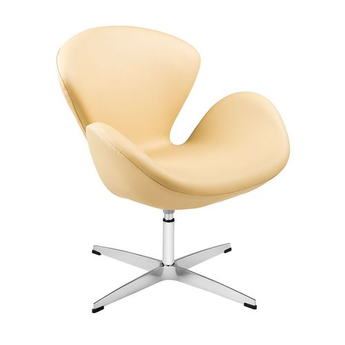 poltrona-swan-arne-jacobsen-cadeira-bege