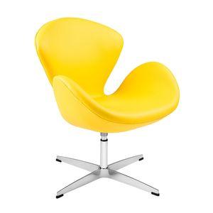 poltrona-swan-arne-jacobsen-cadeira-amarela