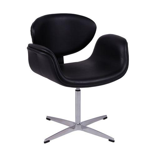 poltrona-cadeira-tulipa-pierre-paulin-tulip-aluminio-preta