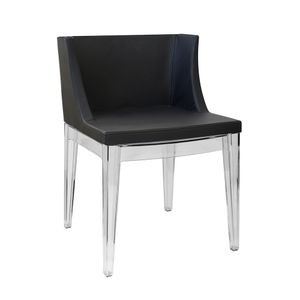 cadeira-mademoiselle-philippe-starck-kartell-madeira-incolor-transparente-policarbonato-preta