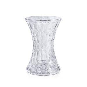 banco-banqueta-tamborete-stone-diamante-philippe-starck-kartell-acrilico-policarbonato-incolor-tranparente