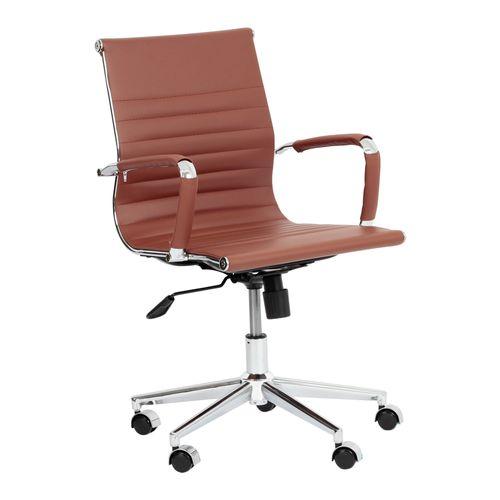 cadeira-de-escritorio-esteirinha-encosto-baixo-marrom-1