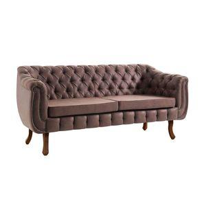 sofa-3-Lugares-Chesterfield-Courissimo-Marrom