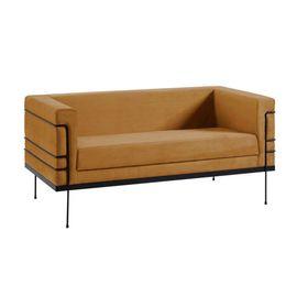 sofa-le-coubosuer-dourado-2-lugares-1