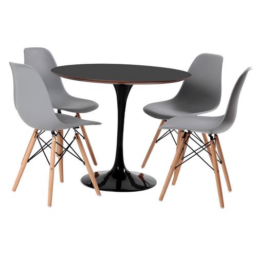 mesa-saarinen-preta-mdf-90-4-cadeiras-1102-cinza-1