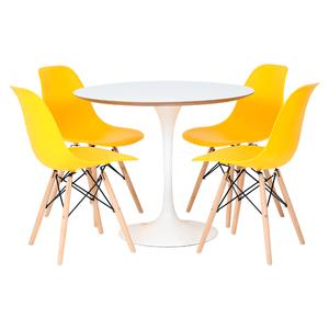 mesa-saarinen-branca-mdf-90-4-cadeiras-1102-amarelas-1