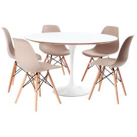 mesa-saarinen-branca-5-cadeiras-eames-fendi