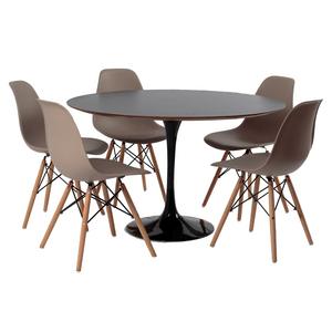 mesa-saarinen-preta-5-cadeiras-eames-fendi