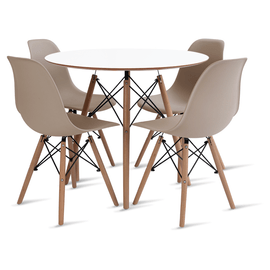 mesa-eames-90-com-4-cadeiras-eames-fendi