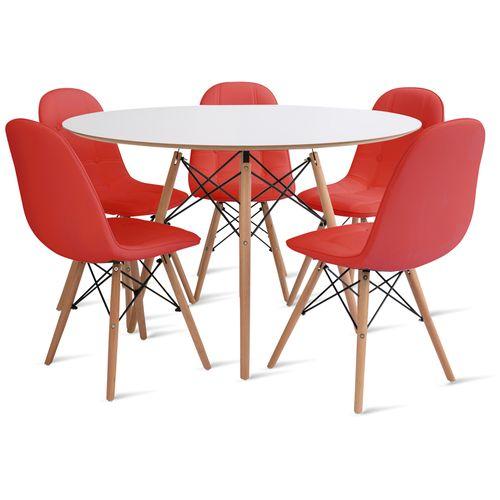 mesa_eames_120cm_5_cadeiras_botone_2_vermelho
