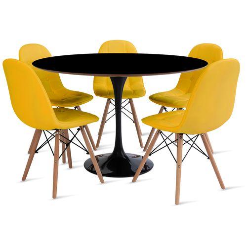 mesa_saarinen_120cm_5_cadeiras_botone_2_amarelo