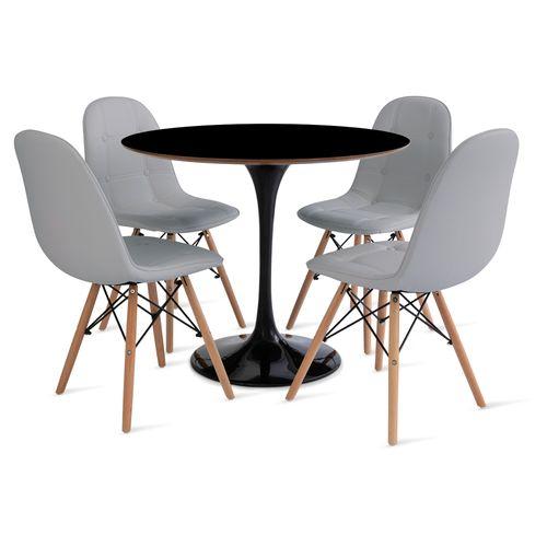 mesa_saarinen_90cm_4_cadeiras_botone_1_cinza