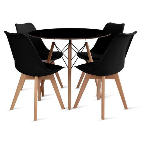 mesa_eames_90cm_4_cadeiras_leda_2_preta