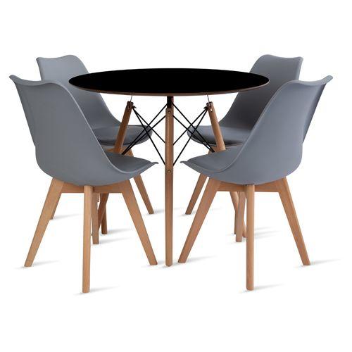 mesa_eames_90cm_4_cadeiras_leda_2_cinza