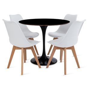 mesa_saarinen_90cm_4_cadeiras_leda_1_branca