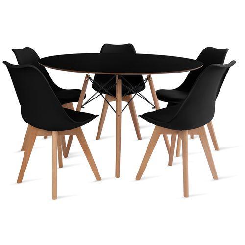 mesa_eames_120cm_5_cadeiras_leda_2_preta