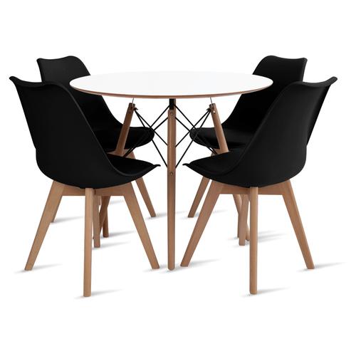 mesa-eames-90-com-4-cadeiras-leda-preta