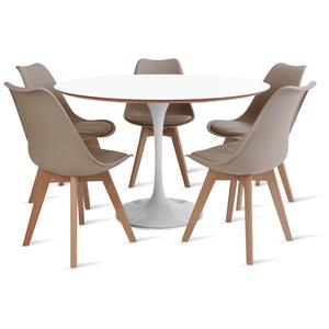mesa-saarinen-120-com-5-cadeiras-leda-fendi