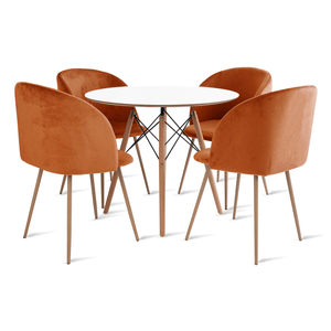 mesa-eames-90-com-4-cadeiras-milla-laranja