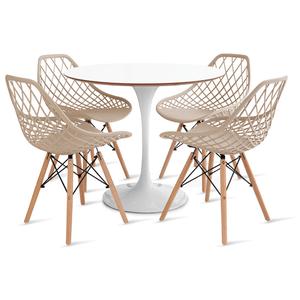 mesa-saarinen-90-com-4-cadeiras-kaila-fendi