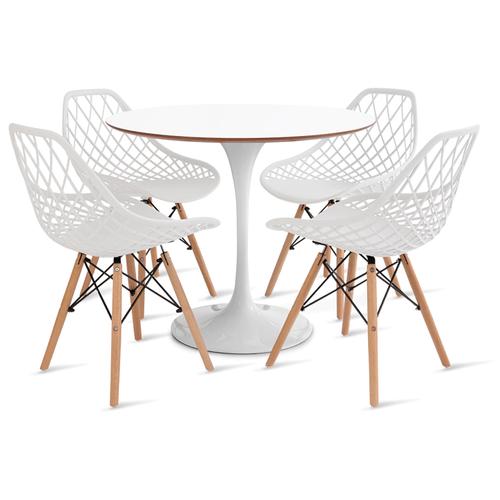 mesa-saarinen-90-com-4-cadeiras-kaila-branca