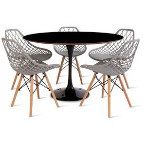 mesa_saarinen_120cm_5_cadeiras_kaila_1_cinza