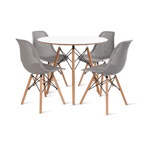 mesa-eames-90-com-4-cadeiras-colmeia-cinza