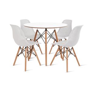 mesa-eames-90-com-4-cadeiras-colmeia-branca