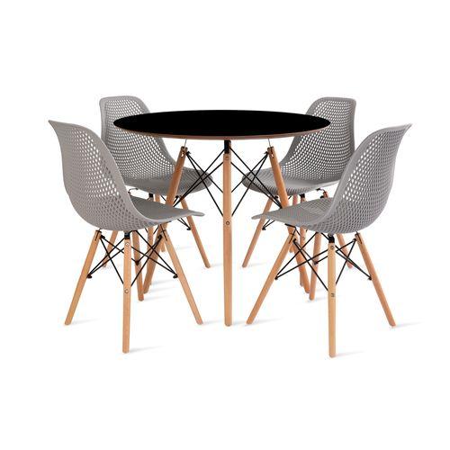mesa_eames_90cm_4_cadeiras_colmeia_1_cinza