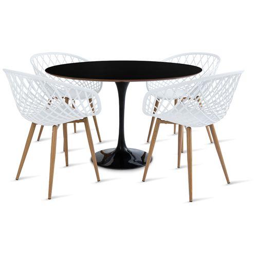 mesa_saarinen_120cm_4_cadeiras_clarisse_2_branca