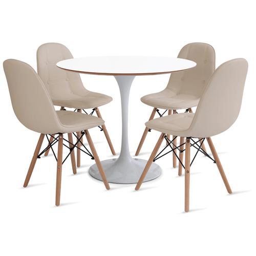 mesa-saarinen-90-com-4-cadeiras-botone-fendi