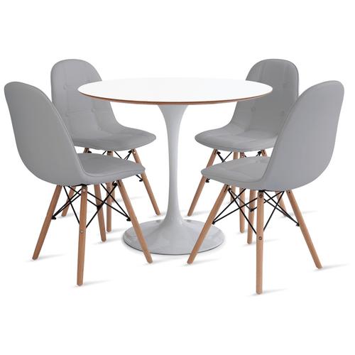 mesa-saarinen-90-com-4-cadeiras-botone-cinza
