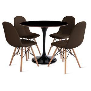 mesa_saarinen_90cm_4_cadeiras_botone_1_marrom