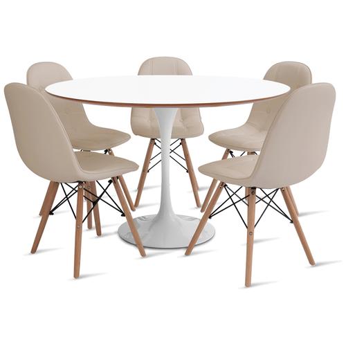 mesa-saarinen-120-com-5-cadeiras-botone-fendi
