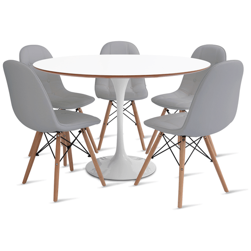 mesa-saarinen-120-com-5-cadeiras-botone-cinza