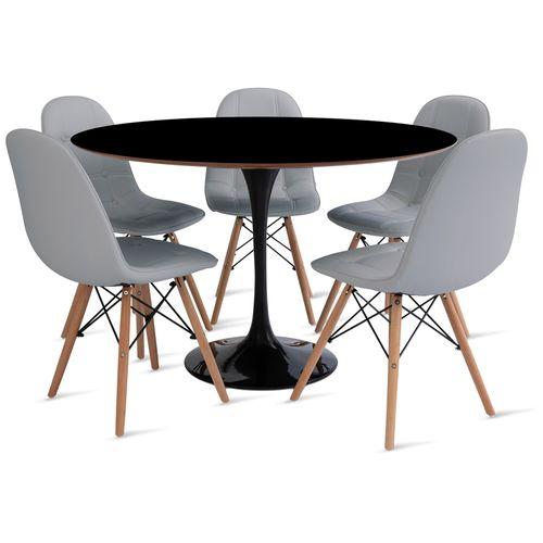 mesa_saarinen_120cm_5_cadeiras_botone_2_cinza