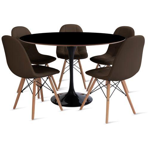 mesa_saarinen_120cm_5_cadeiras_botone_2_marrom