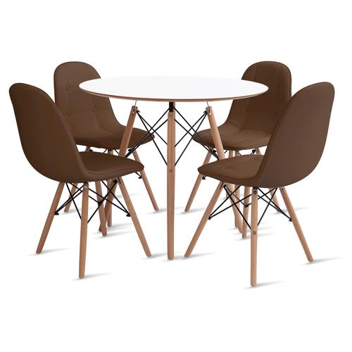 mesa-eames-90-com-4-cadeiras-botone-marrom