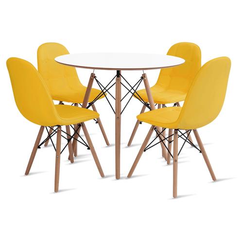 mesa-eames-90-com-4-cadeiras-botone-amarela