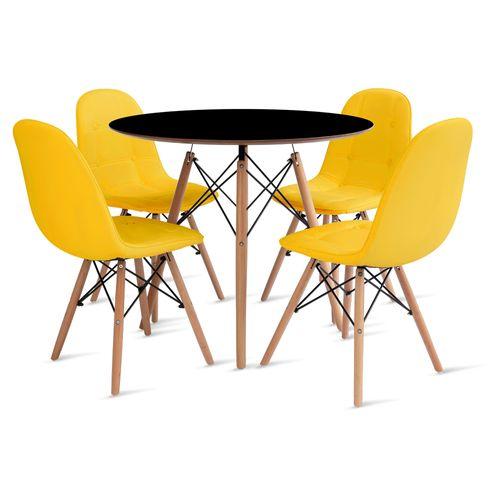 mesa_eames_90cm_4_cadeiras_botone_1_amarelo