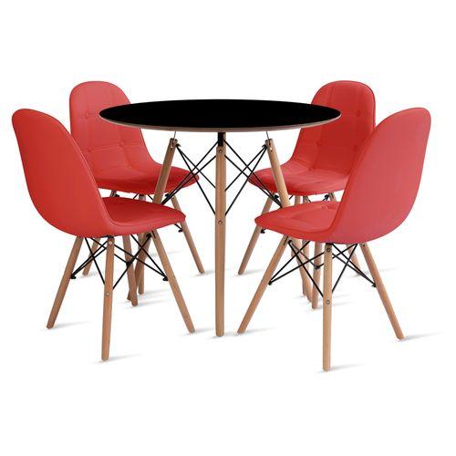 mesa_eames_90cm_4_cadeiras_botone_1_vermelho