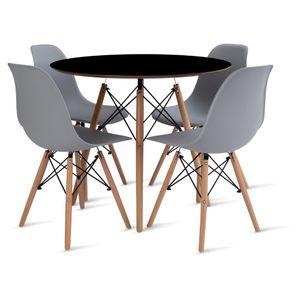 mesa_eames_90cm_4_cadeiras_eames_1_cinza