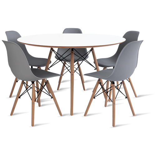 mesa-eames-120-com-5-cadeiras-eames-cinza